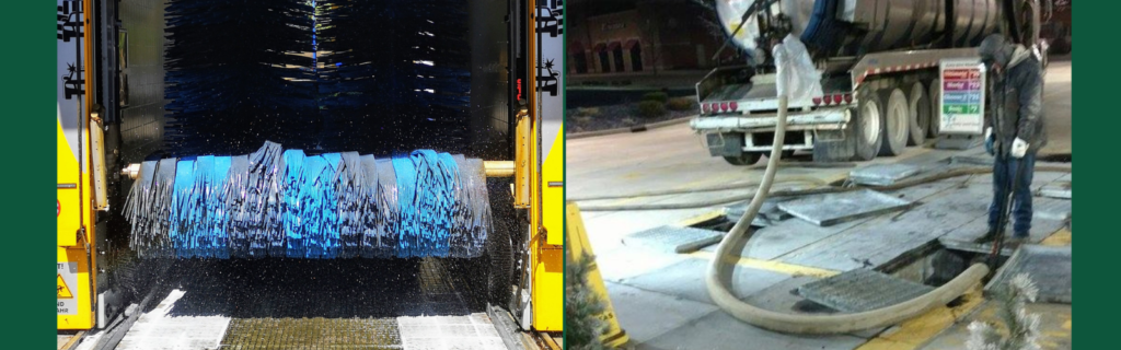 Car Wash Pit Cleaning Truck and Pit